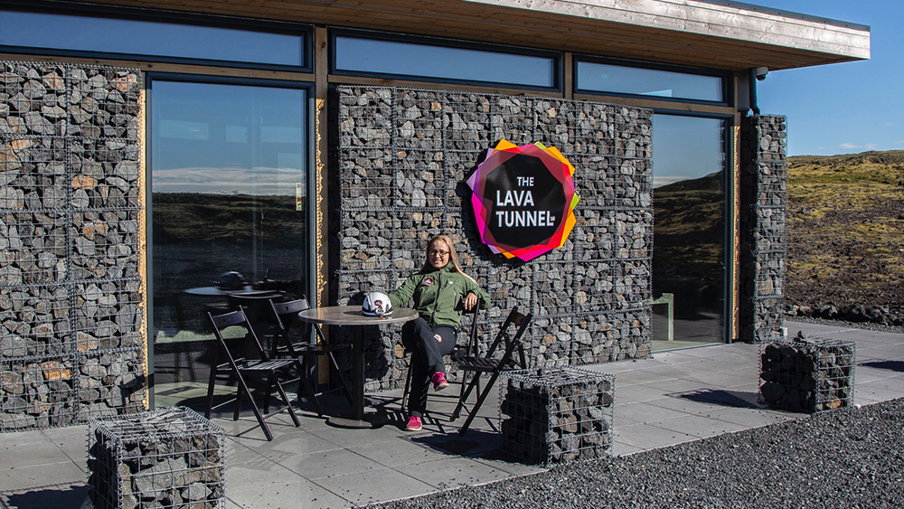 The Lava Tunnel office Iceland